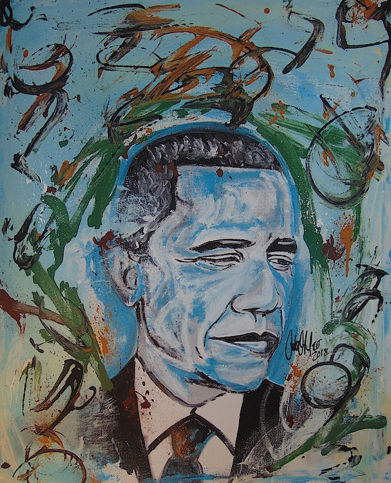Mr. Obama The GREAT by Antonio Moore